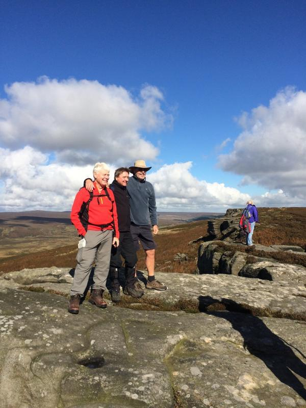 Derbyshire 2016 - The Western End of Stanedge Edge where we enjoyed spectacular views towards Castleton and Edale - one of our walks last year