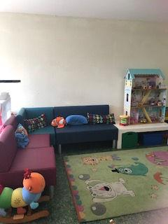 RCPR helps refurbish the Den/Playroom at Saunderton Lodge 2018 -