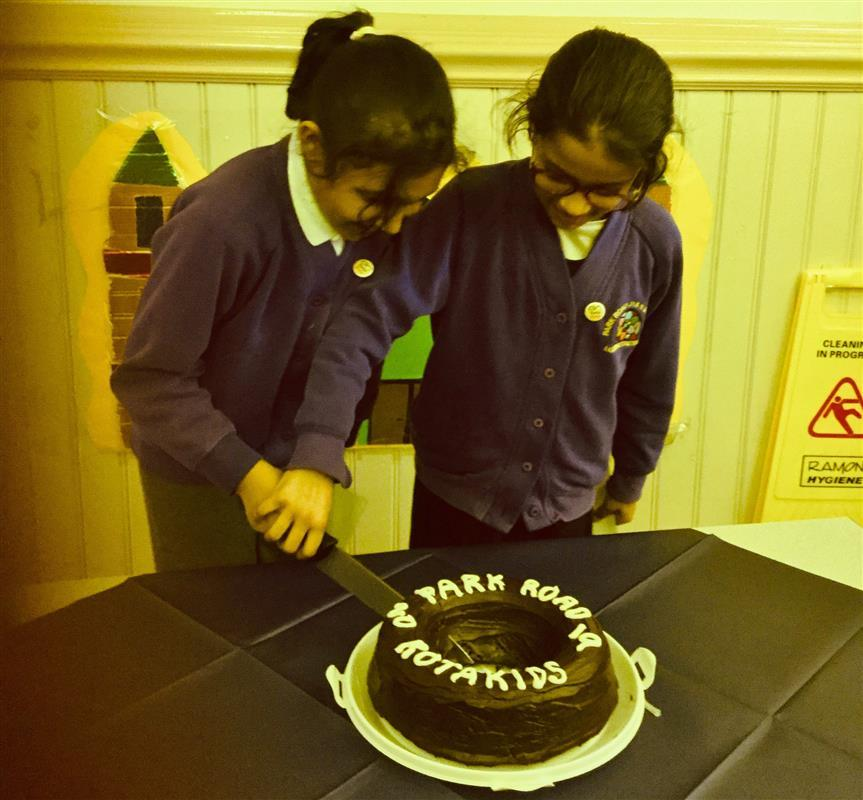 Third Rotakids group formed in Batley - President & Vice President of new Rotakids