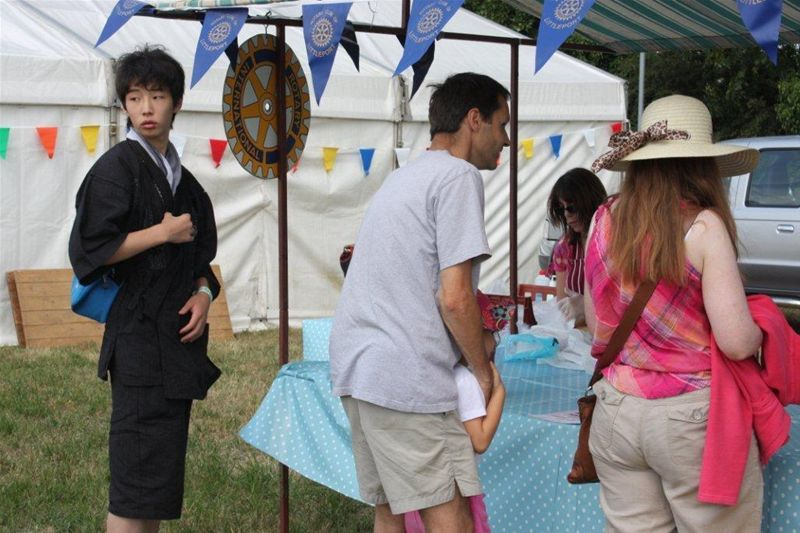 2010 Rotary at Littleport Show - Think I'll try the Fish & Chips