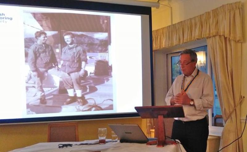 Club Meeting - Speaker: President Paul Temple - IMG 20150721 211703
