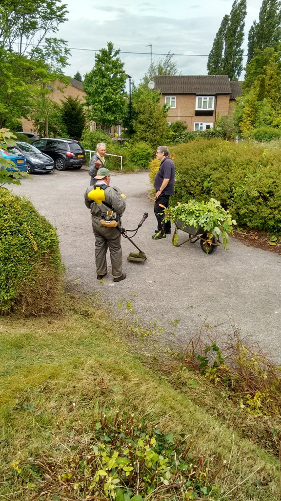 Gardening at the Princes Centre -