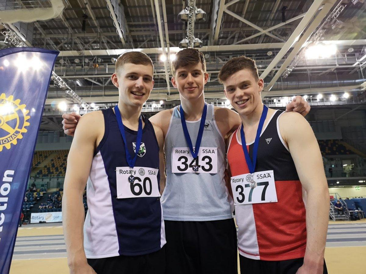Rotary International Scottish Schools Indoor Athletic Championships 2019 - IMG 20190207 141142