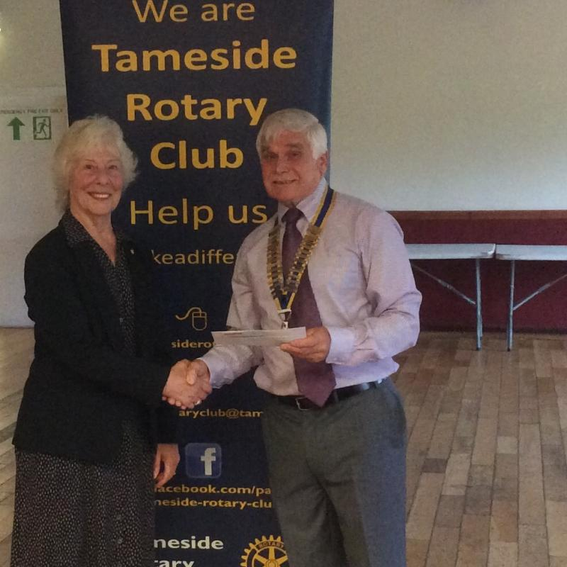 Handout Donations to Tameside Local Organisations  - Joyce Howarth