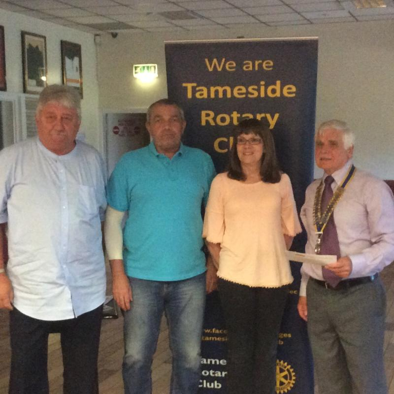 Handout Donations to Tameside Local Organisations  -