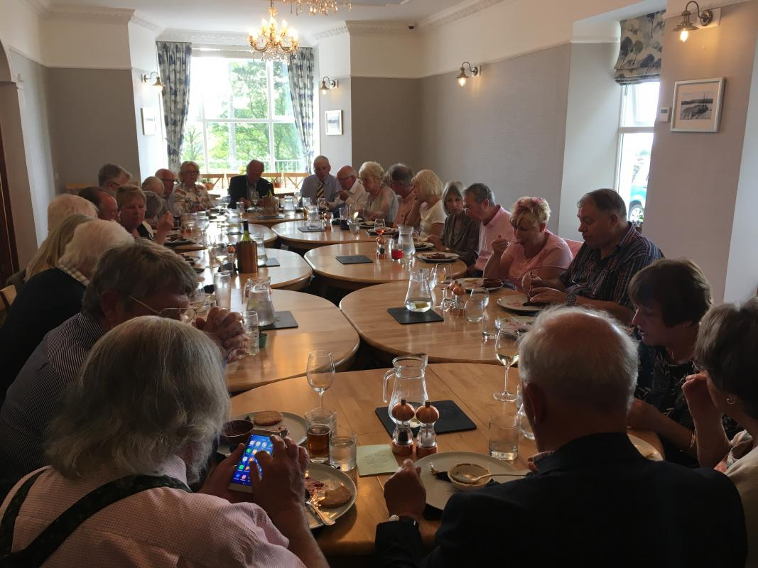 Visit from the Dun Laoghaire Rotary Club -