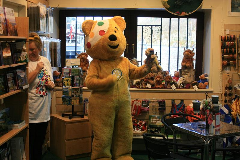 Children in Need 2014 - How much for this bear?