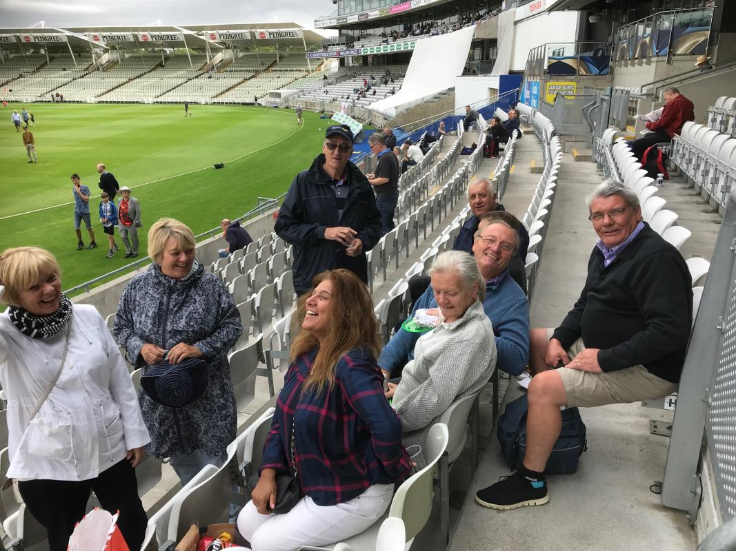 A Day out at Edgbaston -