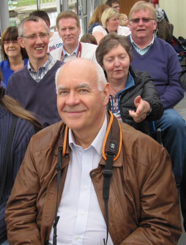 Falkirk Wheel Visit 29th June 2014 - Look out Ian , they're behind you