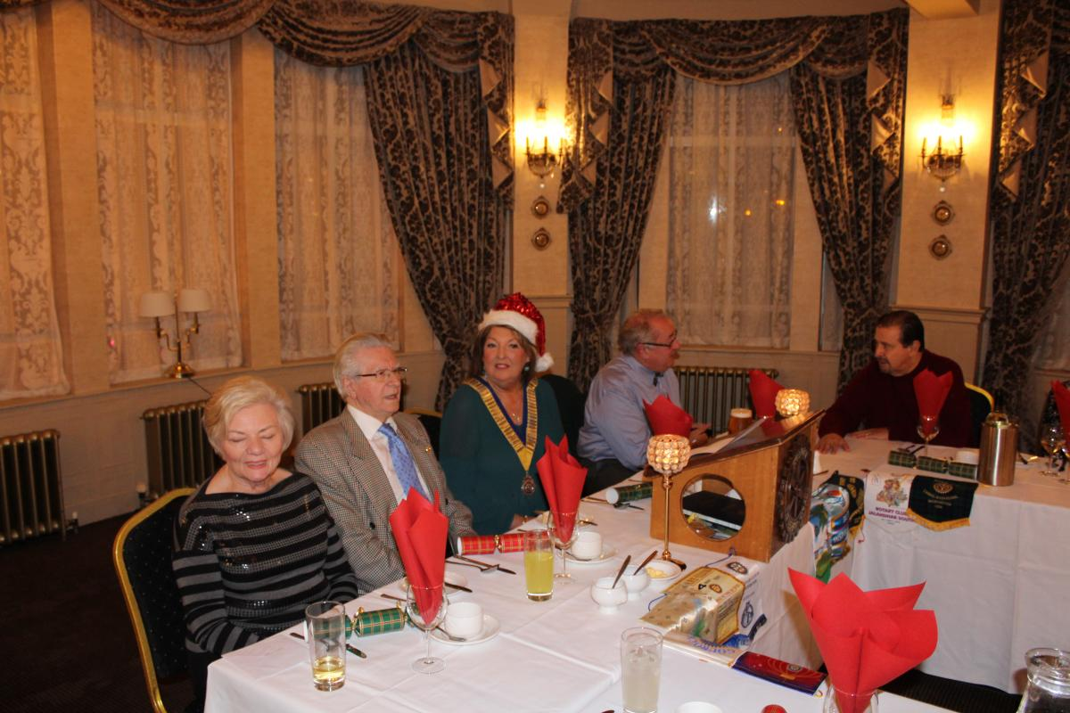 Annual Christmas Dinner 2018 - George Pimantel and top table