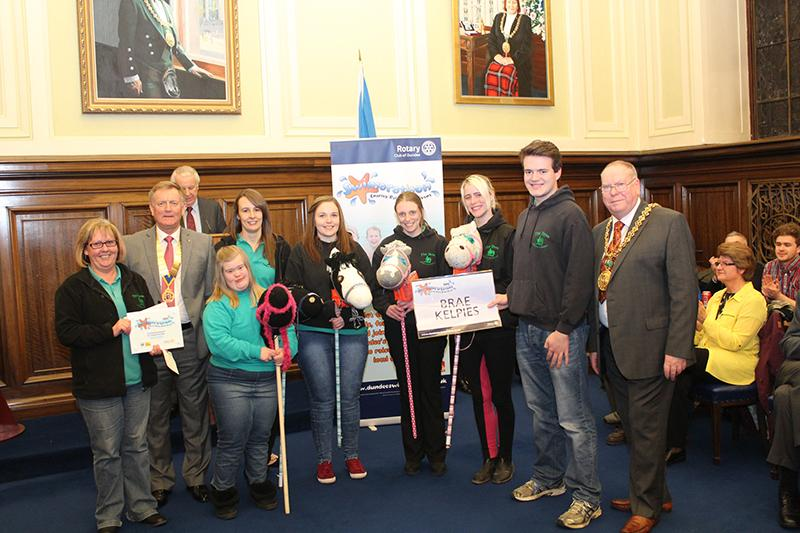 2015 Swimarathon Civic Reception - Brae Riding for the Disabled