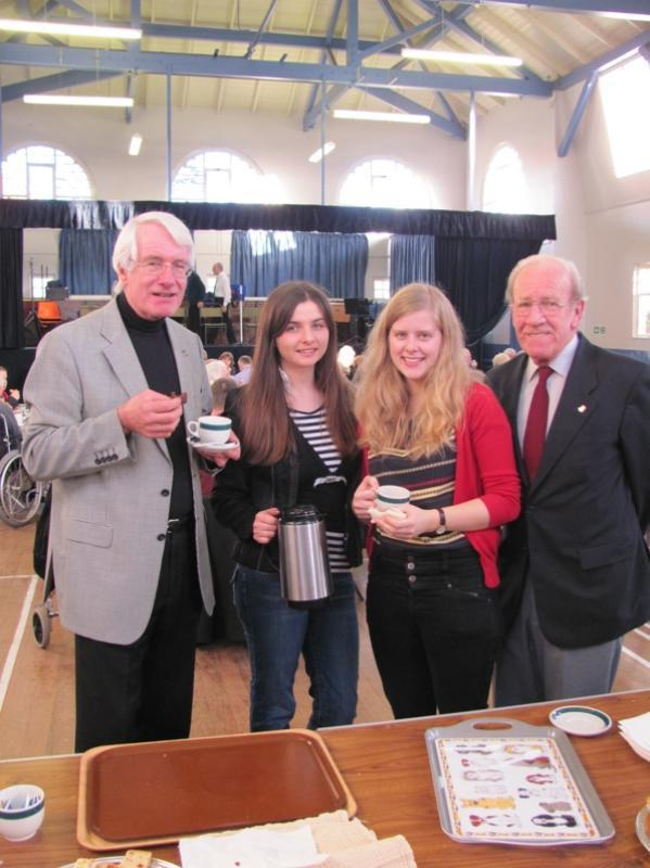 Afternoon Tea Party with Rotary Family -