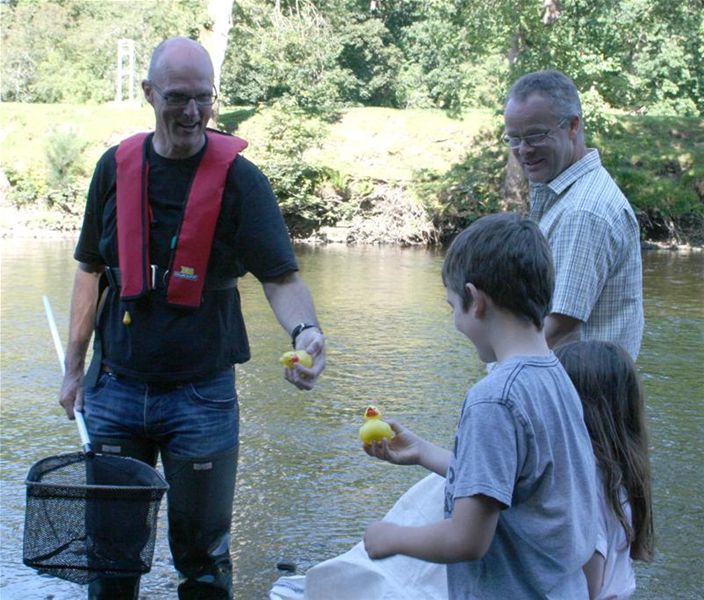 Duck Race 15th August 2010 -