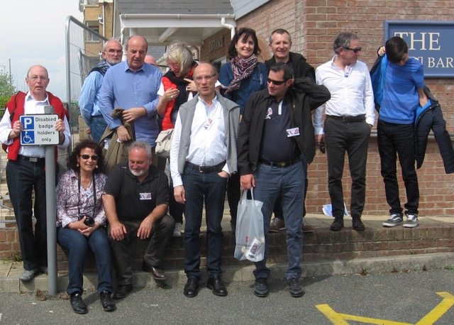 Visit from La Rochelle Rotary Club May 2016 -