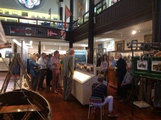 Bi-ennial visit to Rotary Club of Dun Laoghaire - Members enjoying the culture of Dun Laoghaire