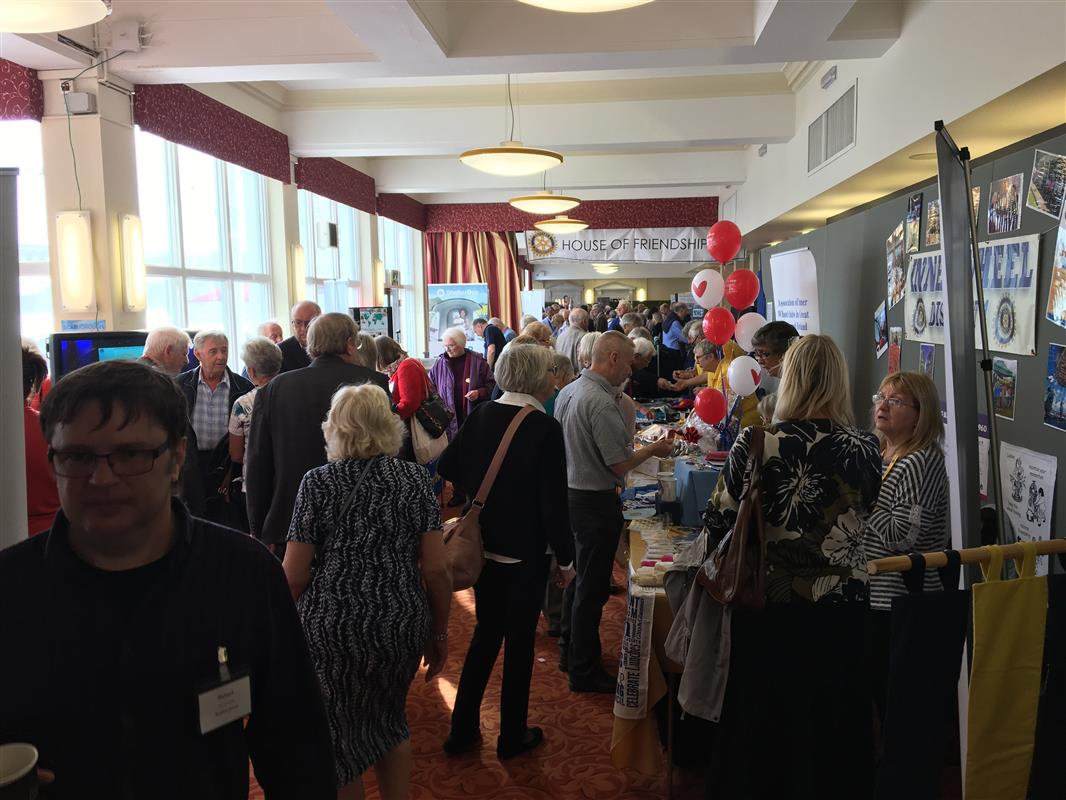 Conference 2018 photos - Rotary Showcase (House of Friendship)