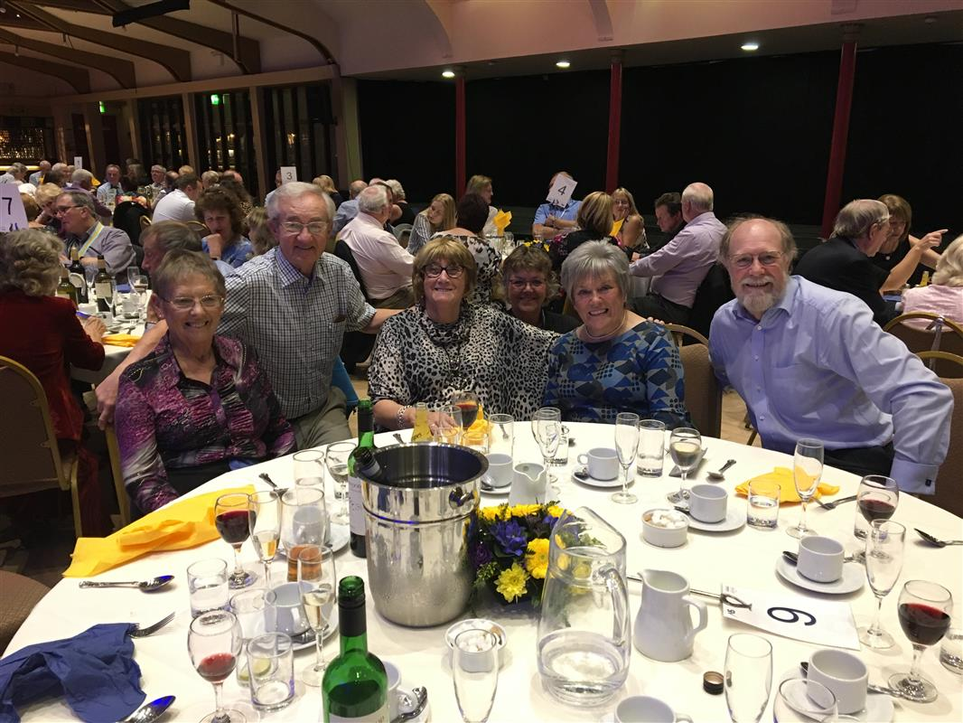 Conference 2018 photos - Wensleydale Rotary contingent- spot the PE!