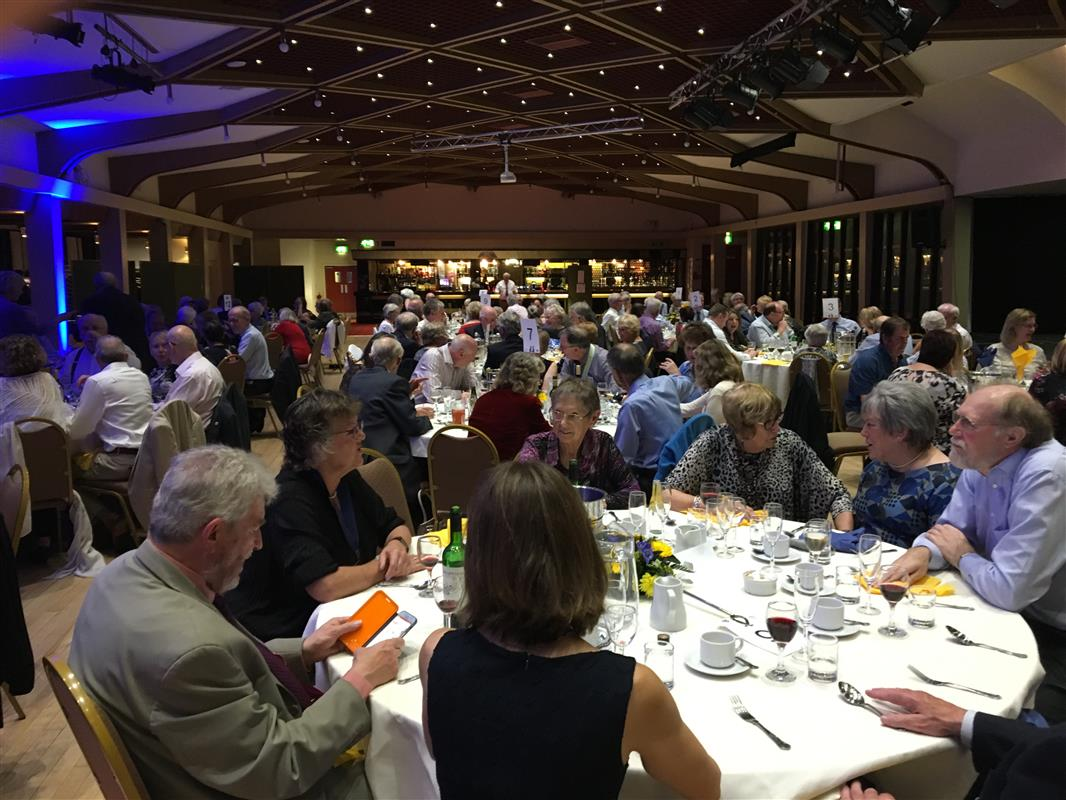 Conference 2018 photos - Saturday evening informal dinner