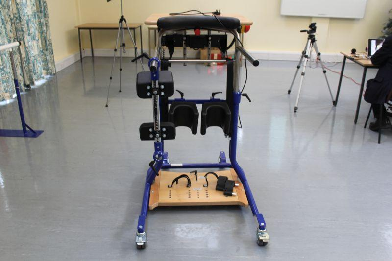 Samson Centre Project - Physiotherapy frame to enable standing