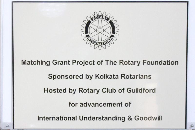 Samson Centre Project - The 'Matching Grant Project of The Rotary Foundation