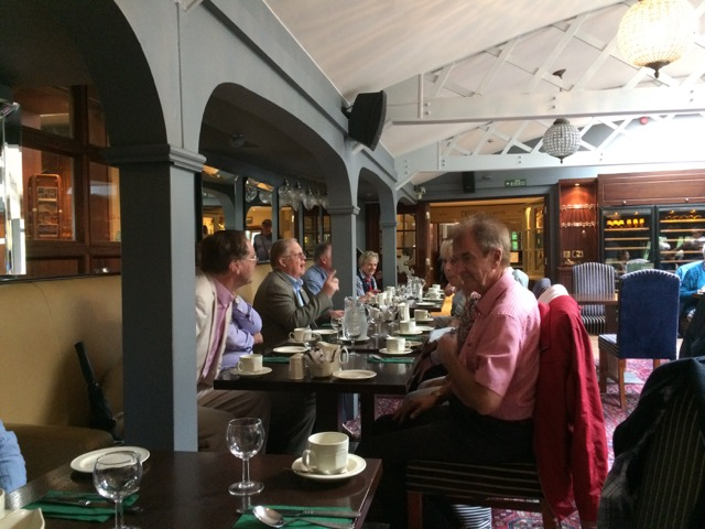 Visit by Holyhead Rotary Club to Dun Laoghaire Rotary Club Thursday 4th August 2016 - IMG 3378