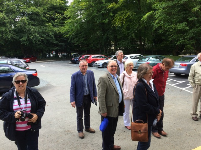 Visit by Holyhead Rotary Club to Dun Laoghaire Rotary Club Thursday 4th August 2016 - IMG 3379