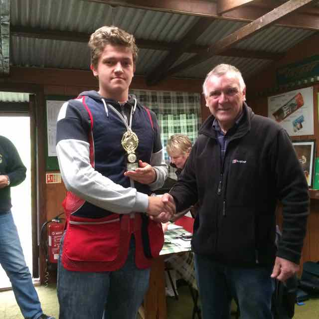 2016 Rotary Charity Clay Pigeon Shoot Saturday 24th September 2016 - Junior Top Gun Huw Jones