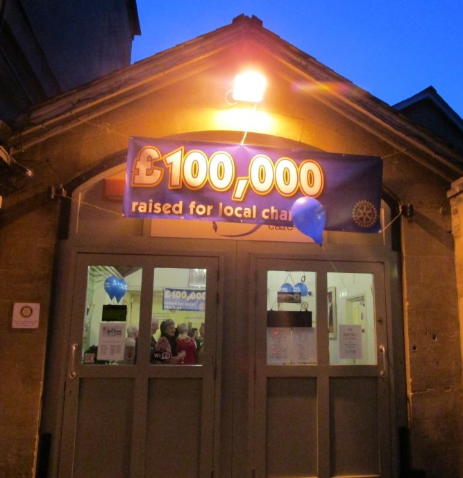 Celebrating reaching £100,000 for local charities - The ArtHouse
