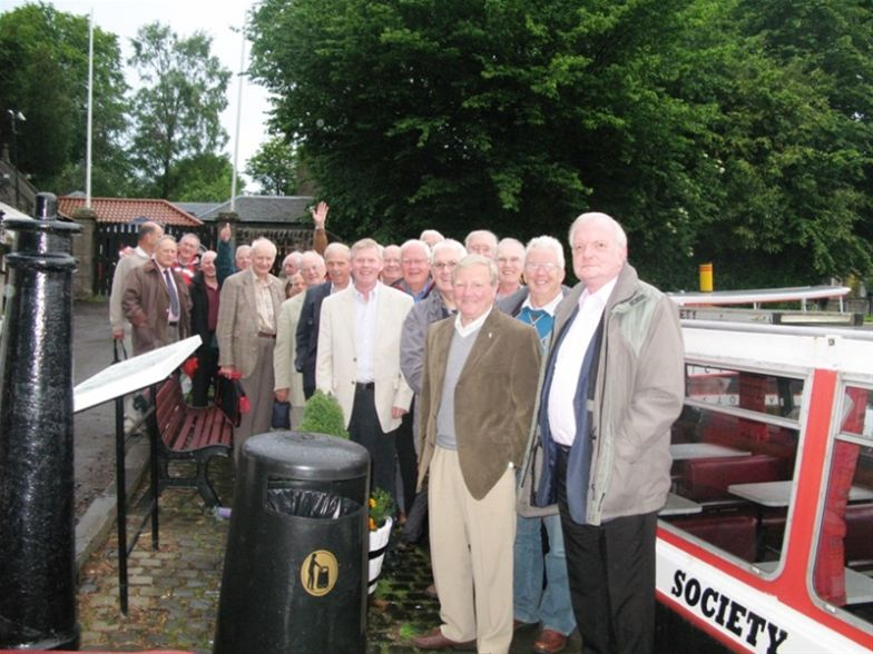 President's Review of the Year Canal Cruise -