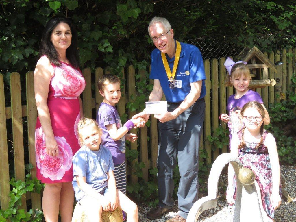 Visit to St Thomas' Infants School -