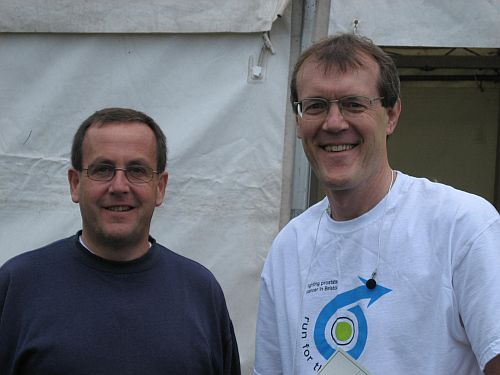 Run for the Future -  Pres. Roger Harper & Anthony Hughes both ran, (& walked!)
