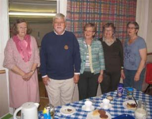 Oct 2011 Memory Cafe, Girton  WI Hall, High Street, Girton, CB3 0PU -