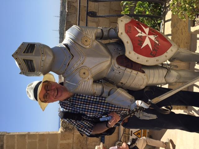 Malta visit 2016 - They said changing the dress code would be the this end of the wedge