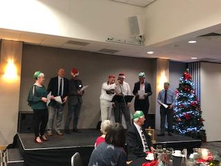 Christmas meal 2018 - members and guests