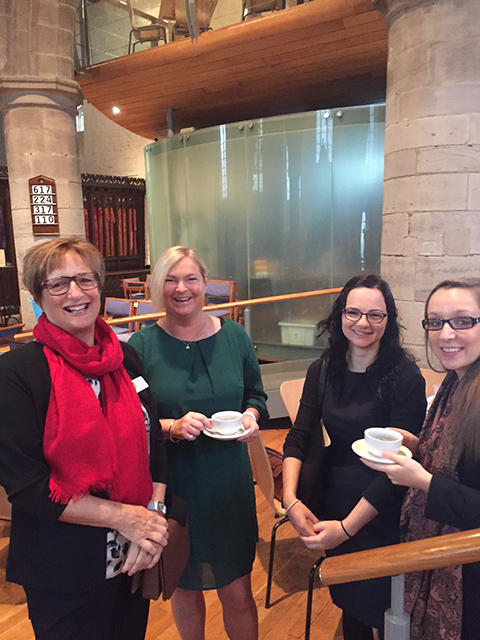 Hereford Porridge Day - and guests at the Porridge Day launch 2016