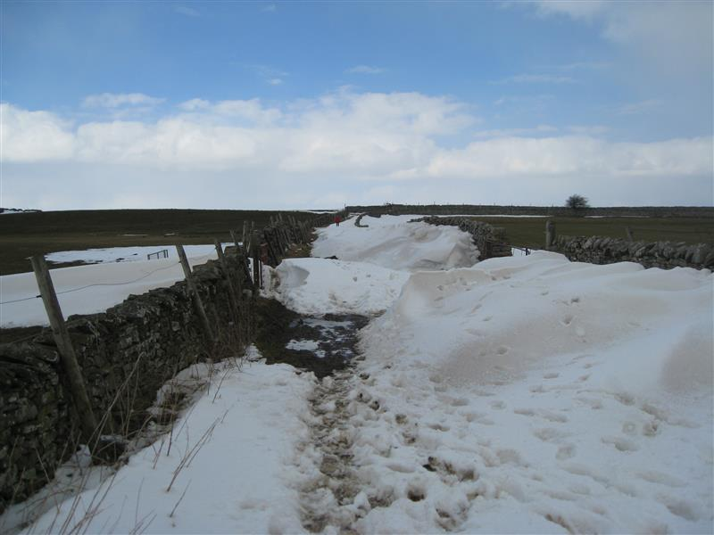 Wensleydale Wander 2013 Report - More drifts