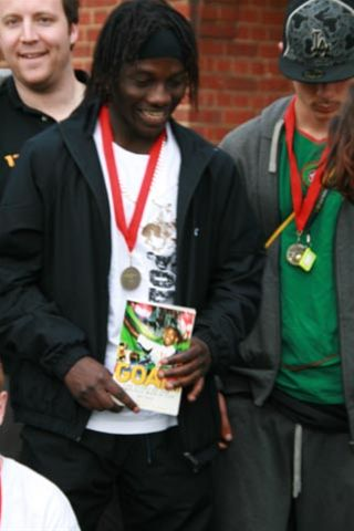 Apr 2010 Football Tournament for the Homeless - Clare College Sports Ground, Bentley Road, Cambridge -