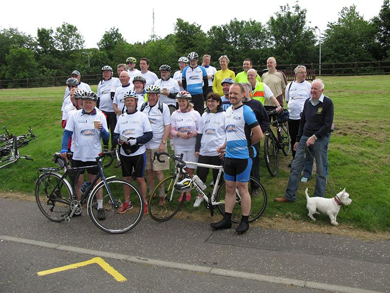 2015 Cycle for Prostate Scotland -