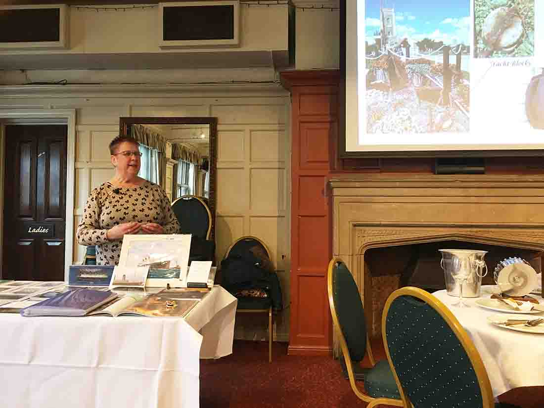 "Speaker meeting Mrs Pat Gilbey Subject: My ""TITANIC 12-Apr-2018 - IMG 4778(1)"