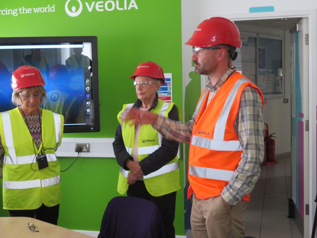 Visit to Hollingdean Recycling Facility -