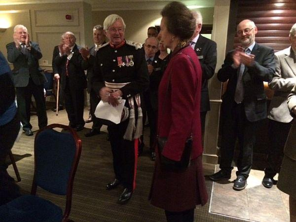 The Queens Award for Voluntary Service -