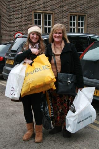 Dec 2010 Christmas Car Parking in Cambridge City Centre - Two satisfied customers!