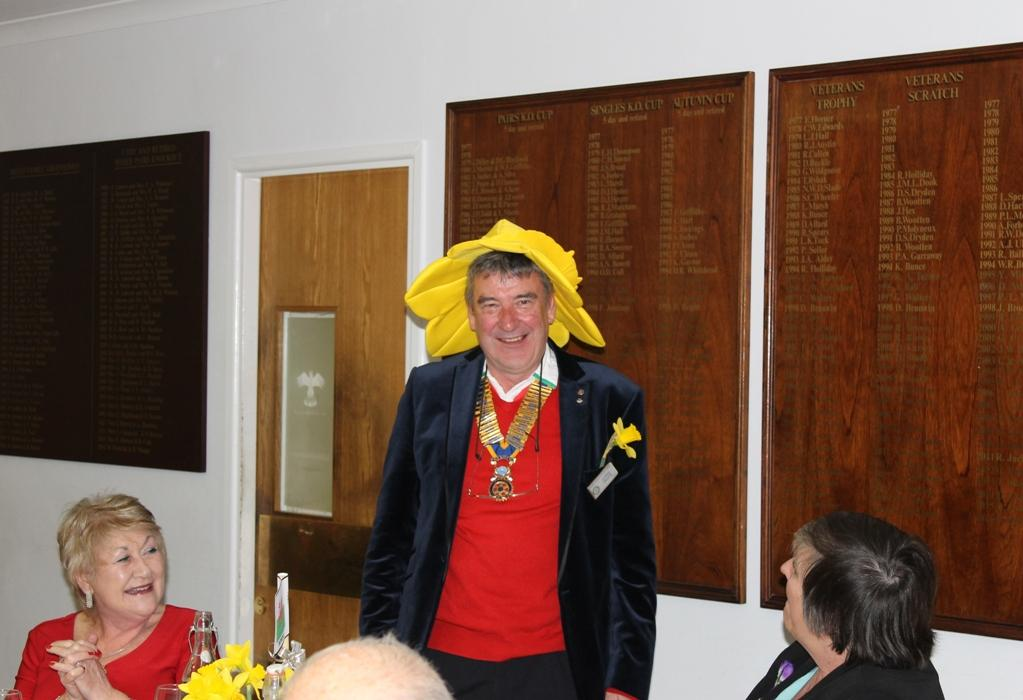 Social Events - All Welshmen should look the part (even our President Chris)