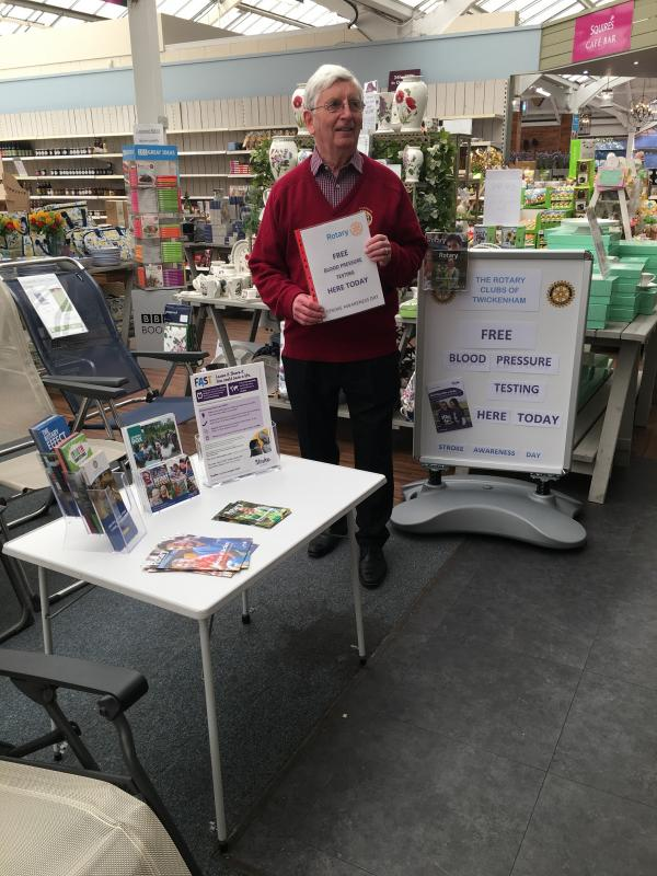 Stroke Awareness Day at Squires Garden Centre -