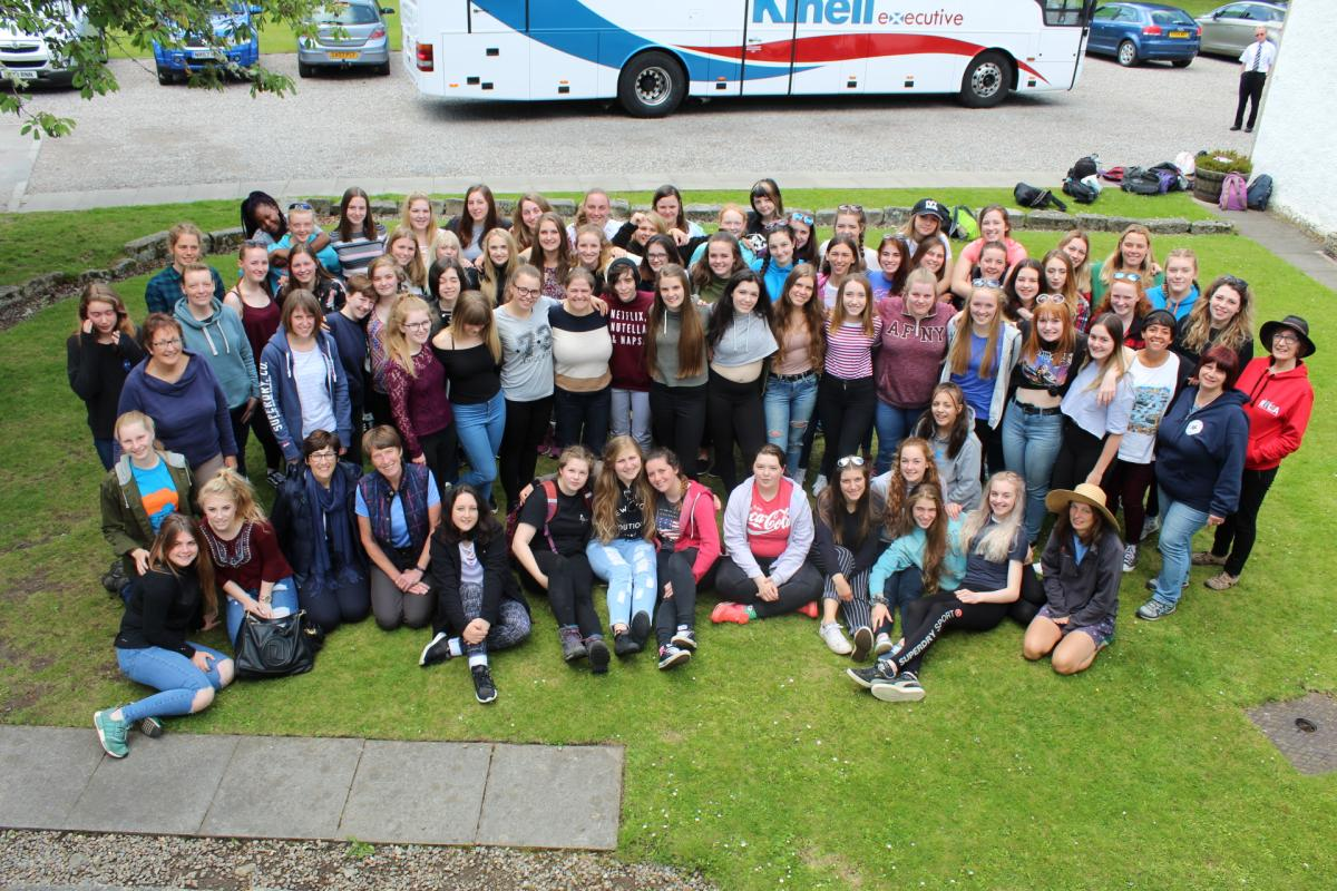 District 1010 Girls RYLA Camp 2017 -