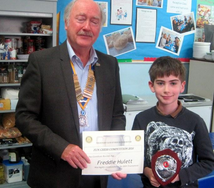 Rotary Childrens Chess Competition 2016 -