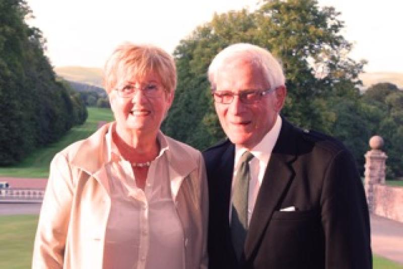 40th Anniversary Charter Dinner - Left to Right: Morag McKie, Max McKie