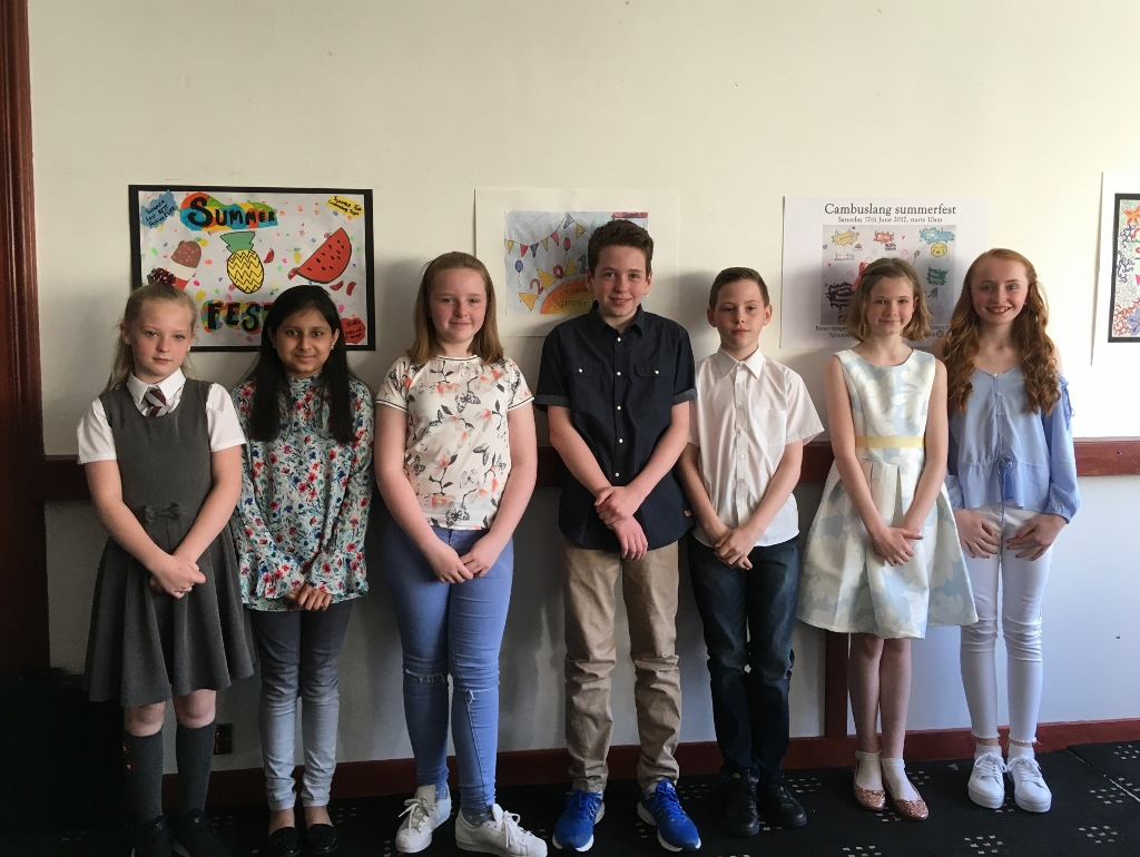 10th May 2017 - Primary School Art Competition: Prize Winners Night -