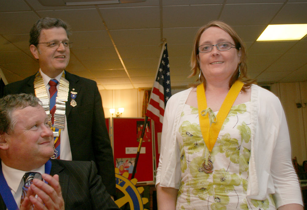 President's Changeover Night 4 July 2011 - President Anthony and President Elect Lorraine