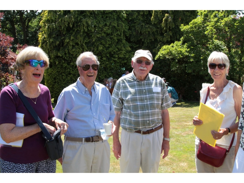 MARY'S GARDEN. SAM'S CHARITY OPEN DAY -